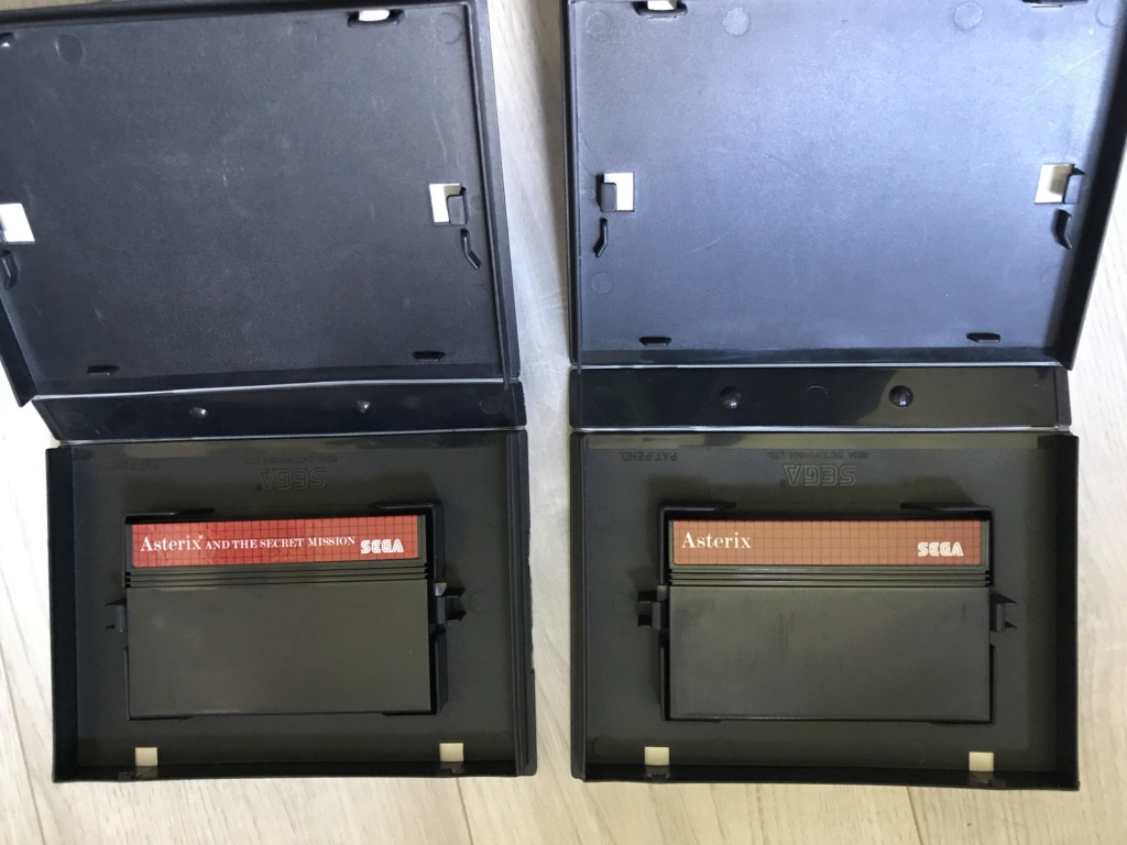 [VDS] Lot Console Master System II en boite + 17 jeux en boites - FUTUR DELOTTAGE Img_0141