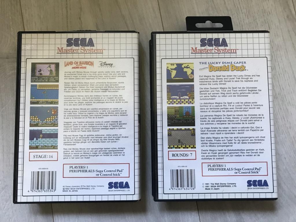[VDS] Lot Console Master System II en boite + 17 jeux en boites - FUTUR DELOTTAGE Img_0146
