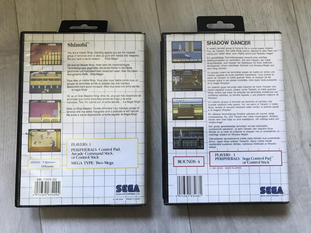 [VDS] Lot Console Master System II en boite + 17 jeux en boites - FUTUR DELOTTAGE Img_0149