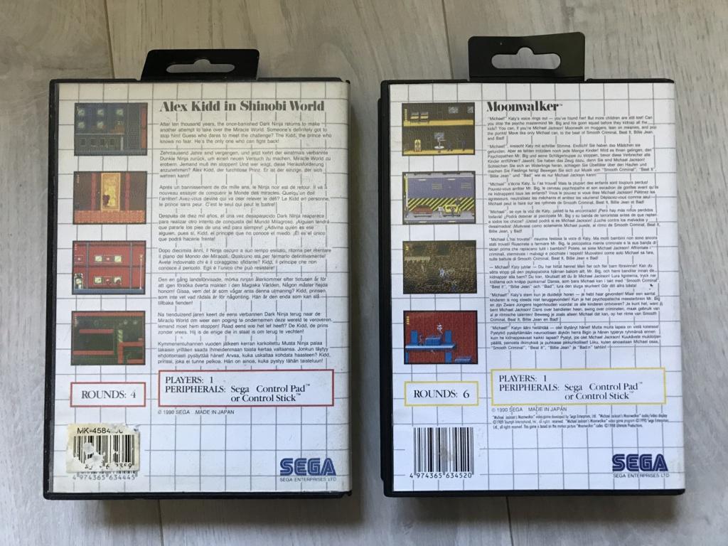[VDS] Lot Console Master System II en boite + 17 jeux en boites - FUTUR DELOTTAGE Img_0152
