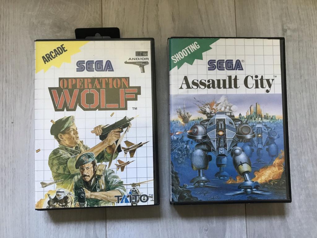 [VDS] Lot Console Master System II en boite + 17 jeux en boites - FUTUR DELOTTAGE Img_0154