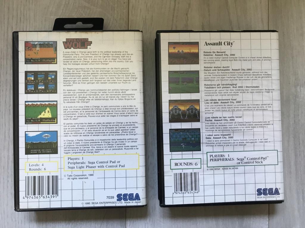 [VDS] Lot Console Master System II en boite + 17 jeux en boites - FUTUR DELOTTAGE Img_0155
