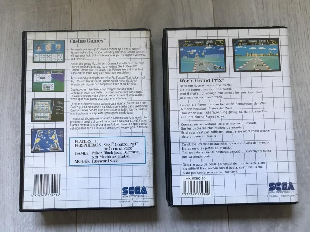 [VDS] Lot Console Master System II en boite + 17 jeux en boites - FUTUR DELOTTAGE Img_0161
