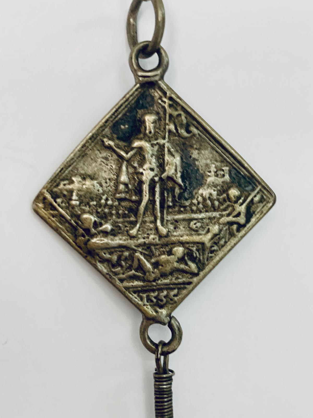 Medalla de Cristo Resucitado / Agnus Dei - s. XVI -1555- MR(250) (R.M. SXVI-Ot2 68bd4712