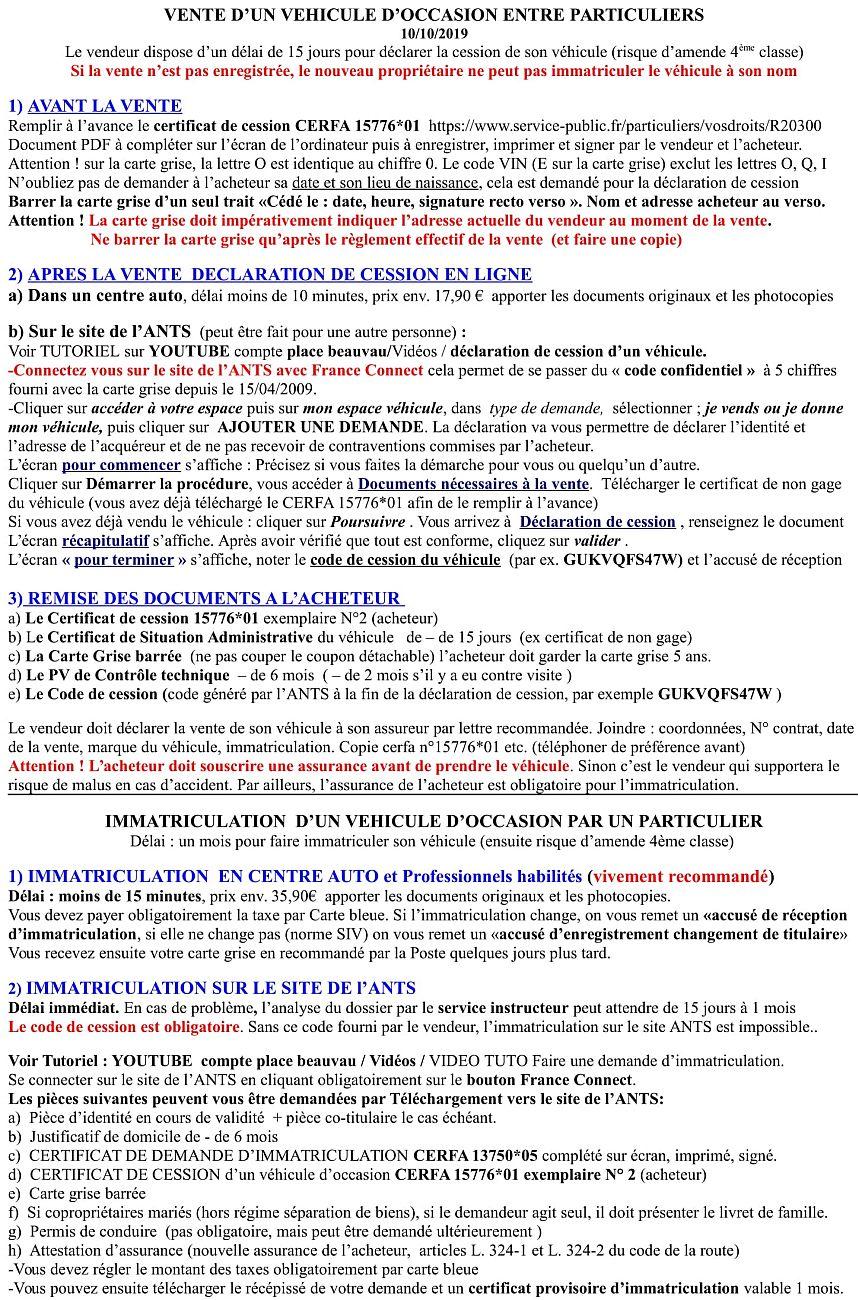 Tutoriel Cession ou immatriculation sur le site de l'ANTS  Tuto_i11
