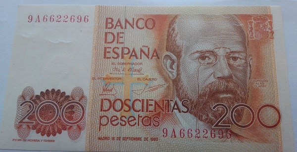 Número más bajo/alto de... 200 pesetas 1980 Serie 8 y 9 - Página 2 9a662210