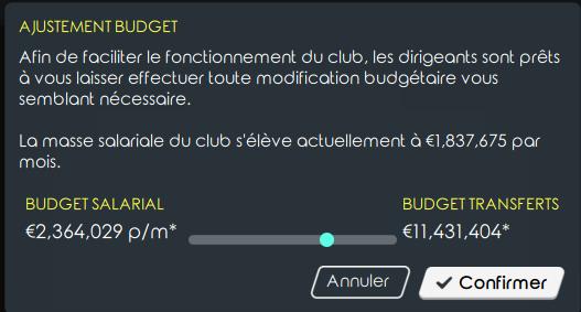 Balance budgétaire Budget10