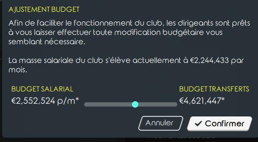 Balance budgétaire Budget11