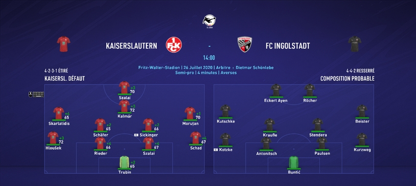 [FIFA 21 - 1.Fc Kaiserslautern] Hungarian Rhapsody  J211