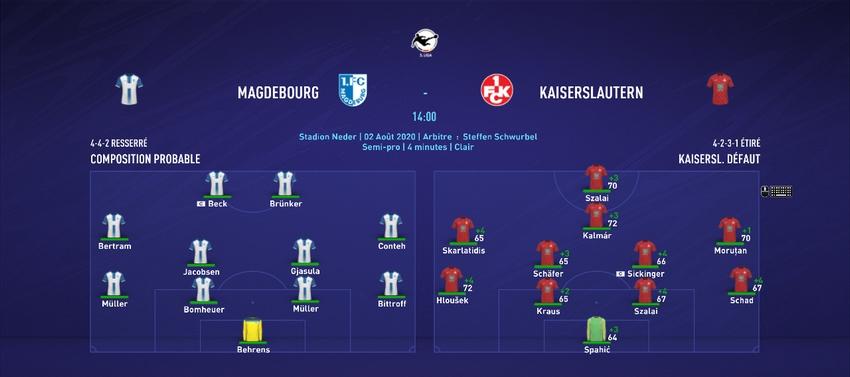 [FIFA 21 - 1.Fc Kaiserslautern] Hungarian Rhapsody  J310