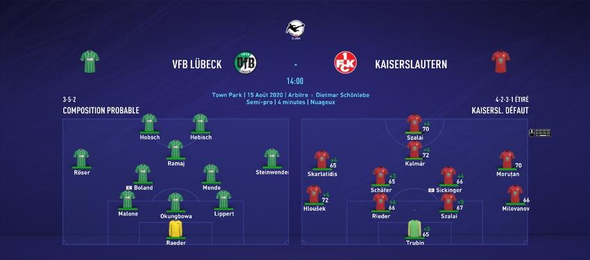 [FIFA 21 - 1.Fc Kaiserslautern] Hungarian Rhapsody  J411