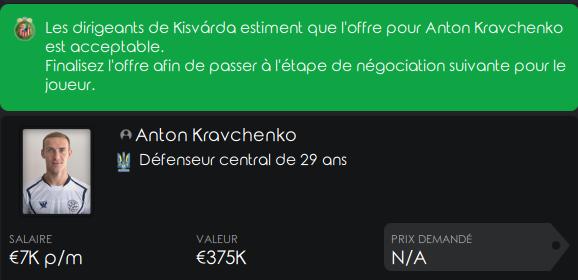 MTK budapest Kravch11