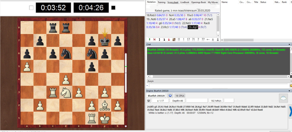 Bluefish ,blazing fast chess engine Bluefi12