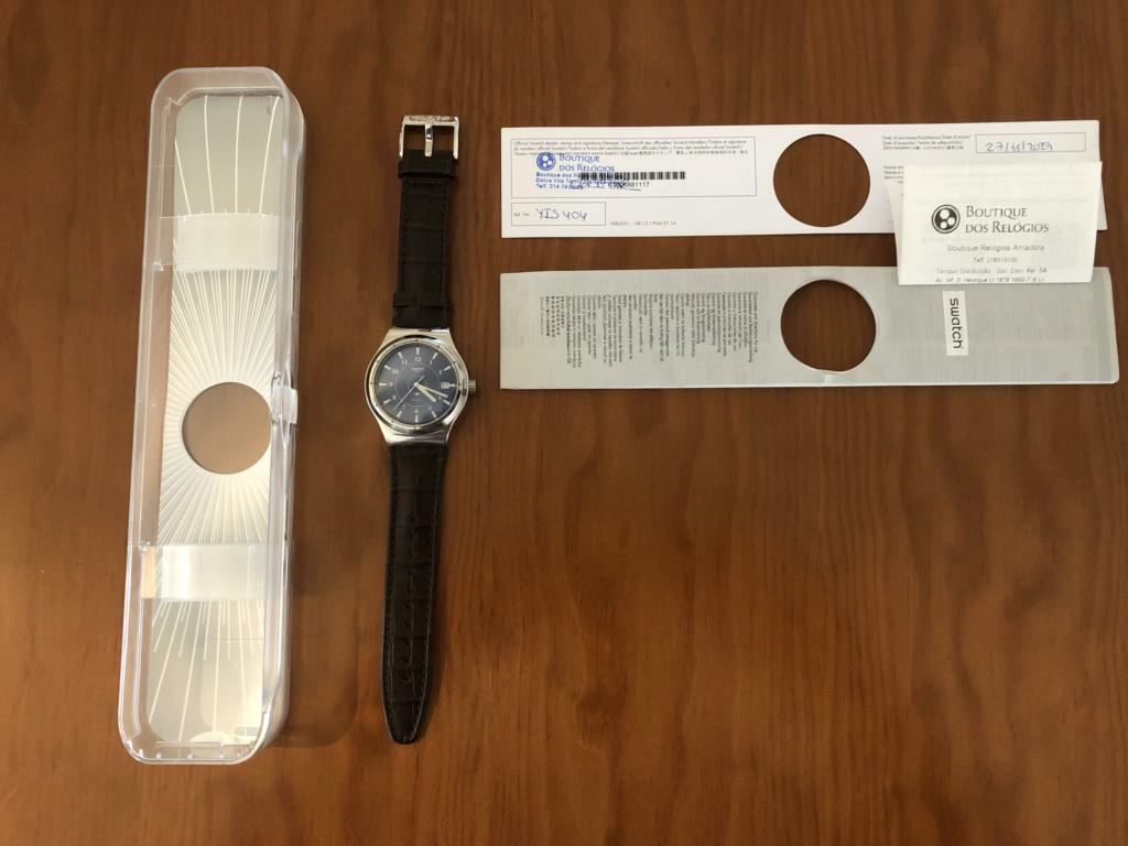 [Vendido] Swatch Sistem51 Fly 113