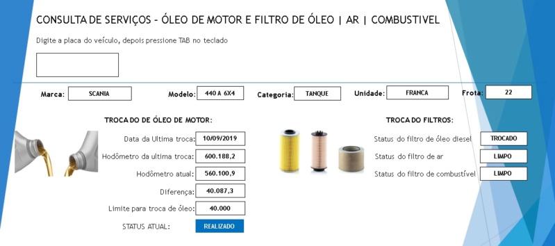 Sistema para controlar troca de óleo - Como criar as tabelas? Img11