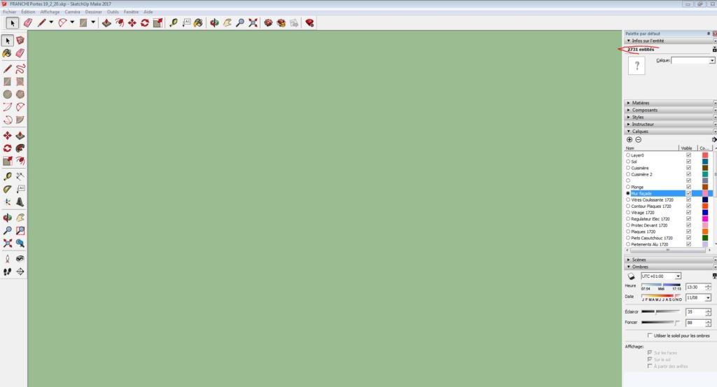 [ SKETCHUP généralité ] Page verte, model perdu ! Captur11