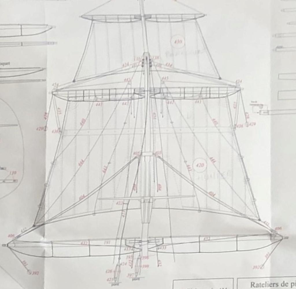 Bonhomme Richard : Partie-2 Gréement (ZHL Model 1/48°) par Pierre Malardier - Page 3 Captur18