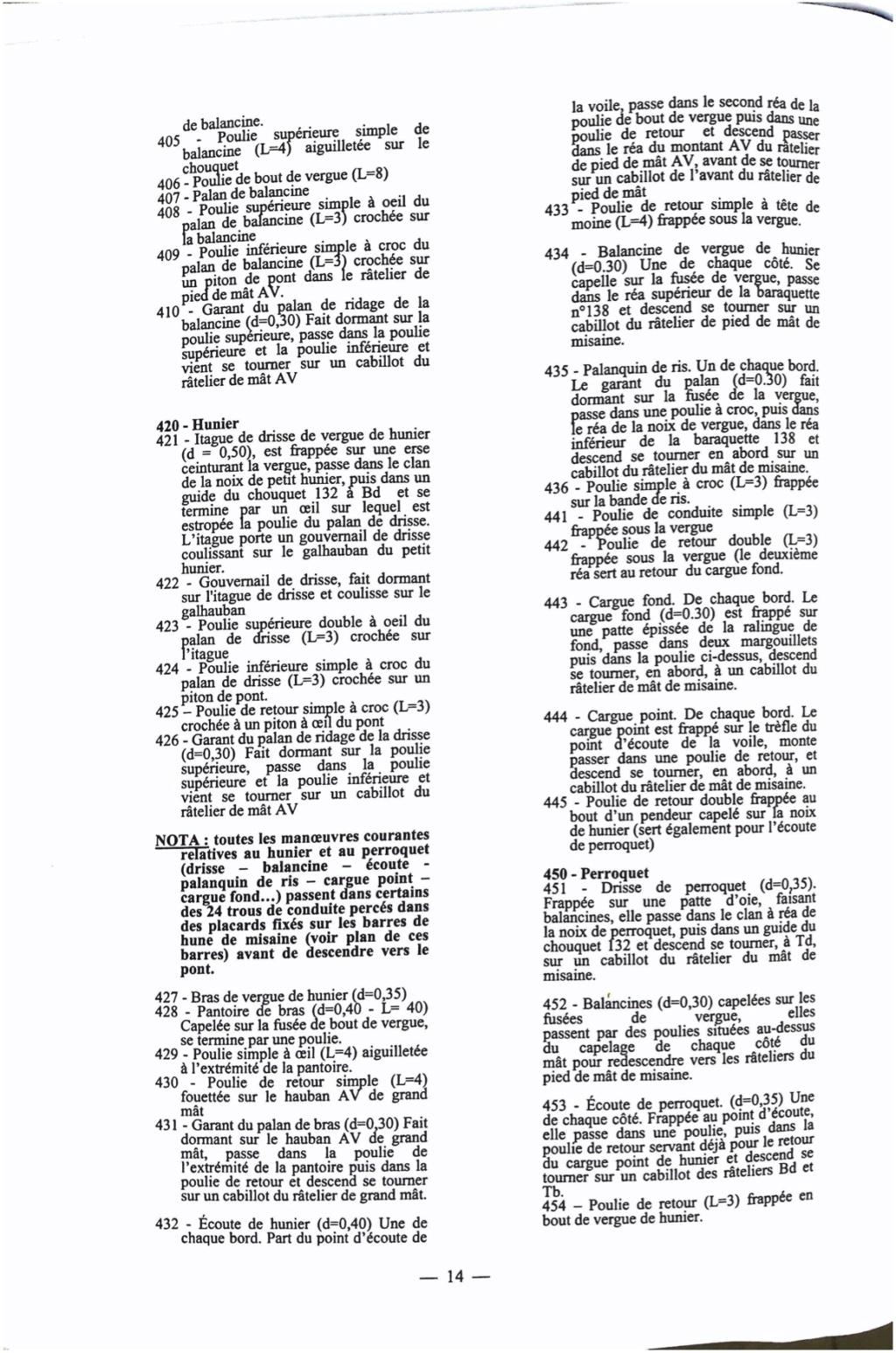 Bonhomme Richard : Partie-2 Gréement (ZHL Model 1/48°) par Pierre Malardier - Page 3 Doc_3_11