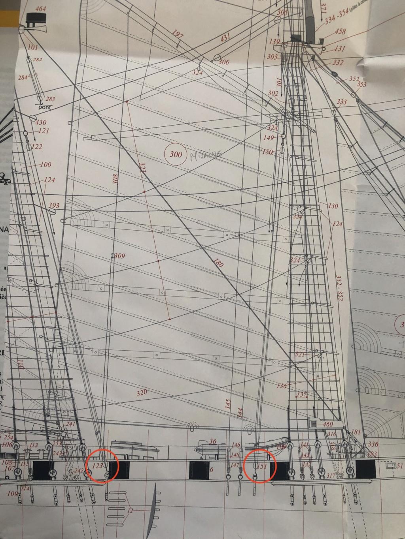 Bonhomme Richard : 2) Gréement (ZHL Model 1/48°) de Pierre Malardier - Page 2 Img_5010