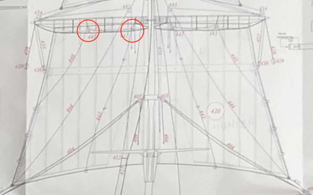 Bonhomme Richard : Partie-2 Gréement (ZHL Model 1/48°) par Pierre Malardier - Page 3 Prise_11
