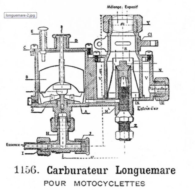 Recherche carburateur longuemare Carbur14