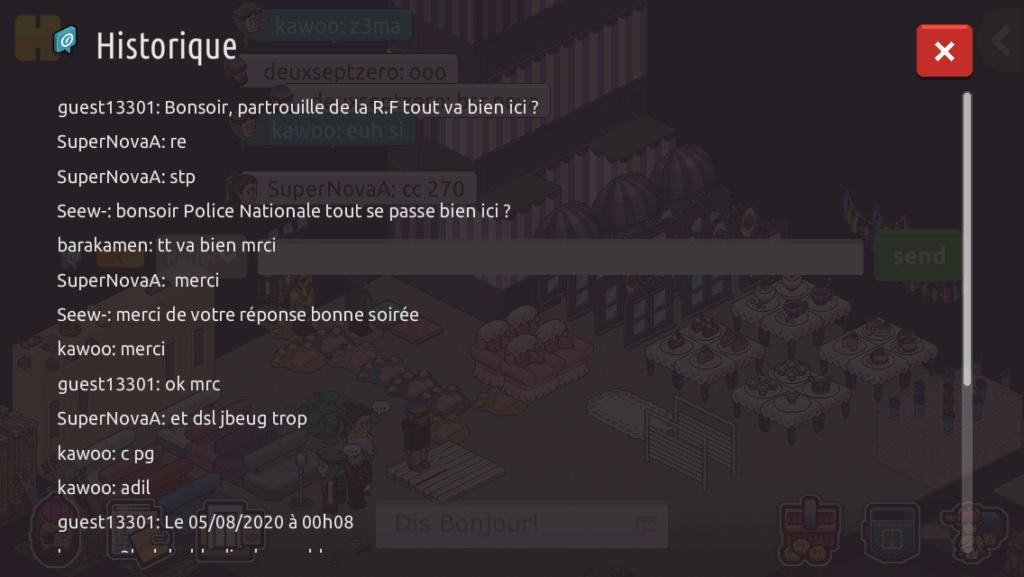 [P.N] Rapport de patrouilles de guest13301 C8534610