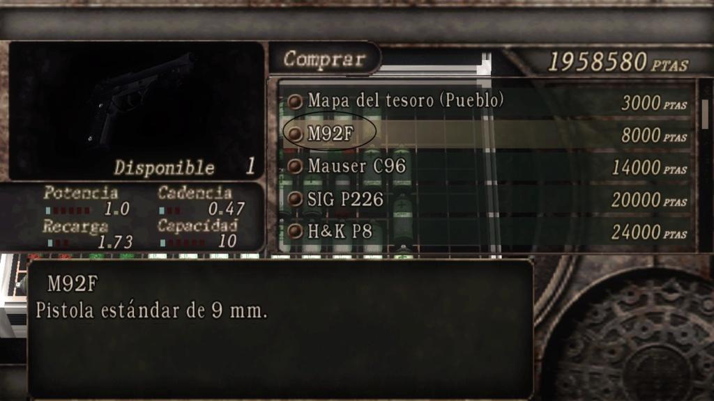 Como renombrar tus armas y objetos de Resident Evil 4 (usando MDT Tool) Nombre13