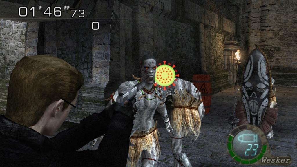 Crosshair/punto de mira de ''COVID-19'' (Coronavirus) (RE4) Wesker11