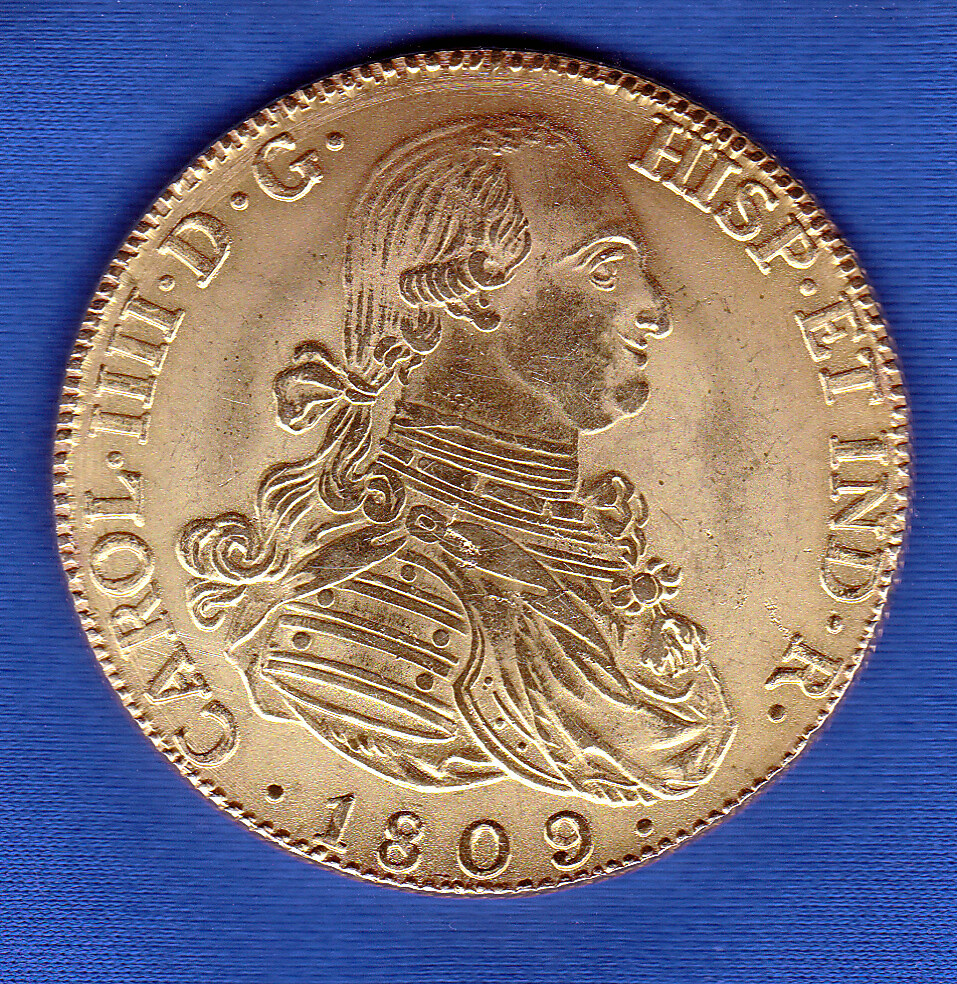8 Escudos Carlos IV 8-escu10