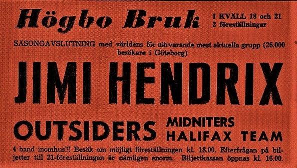 Hogbo (Popladan) : 8 septembre 1967 [Premier concert]  24169210