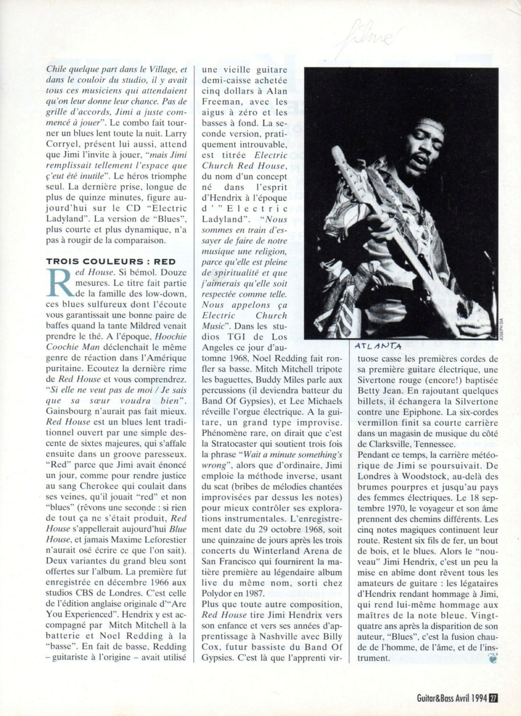 Magazines Français 1989 - 2014 - Page 2 Guitar28