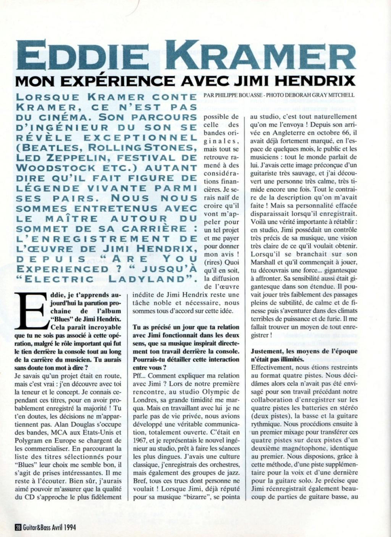 Magazines Français 1989 - 2014 - Page 2 Guitar29