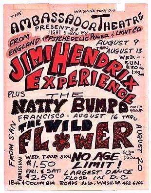Washington (Ambassador Theatre) : 9-10-11-12 août 1967  Jimi_w12