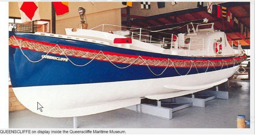"""""""Queenscliffe"""" Build (Watson Class Lifeboat) Queens18"""