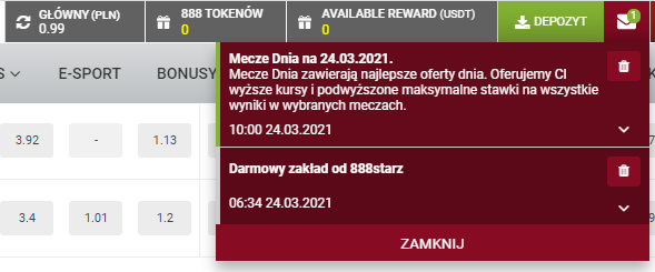 888starz bonus 460 pln Gfdgdg10