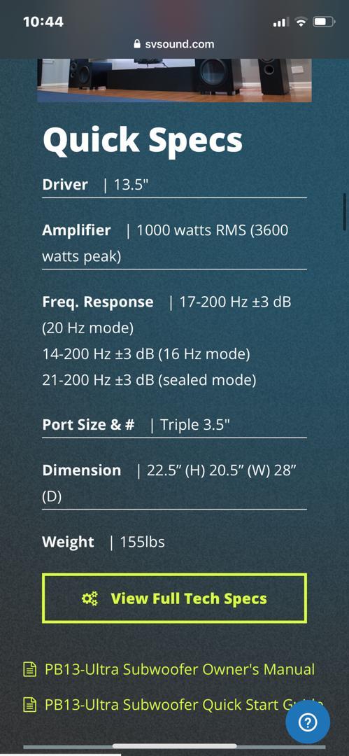 PB13 Ultra Subwoofer For Sale 656ebf12