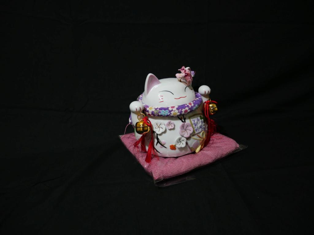 Maneki neko japonais au couleurs du printemps japonais  38bb7a10