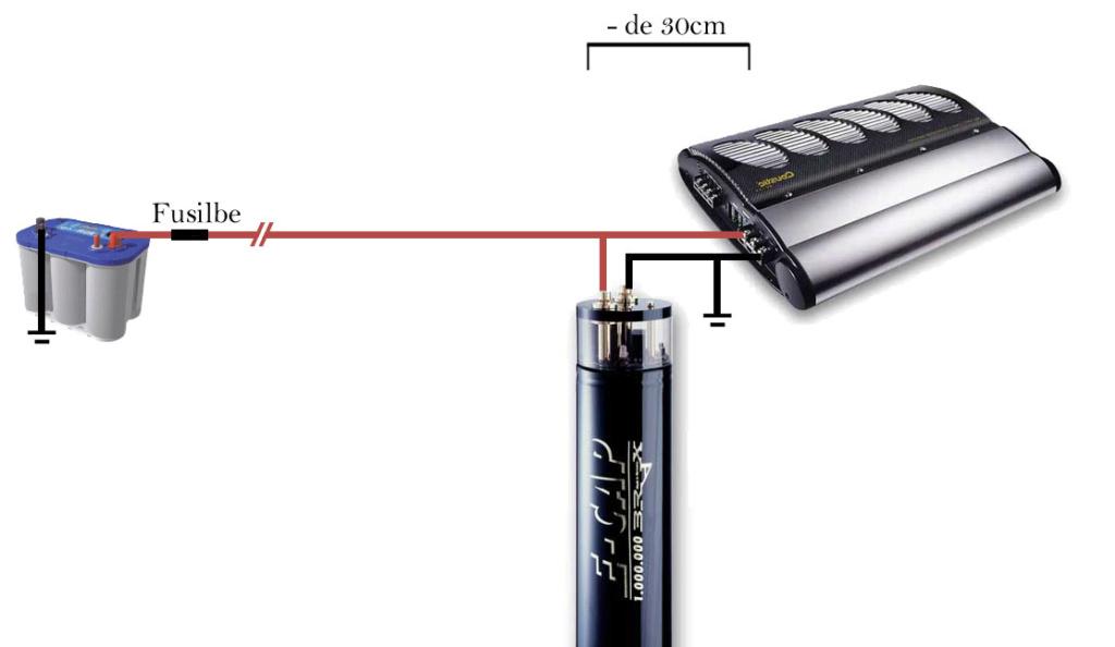 Capaciteur HIFONICS HFC2000 (Condensateur) 2ad2ae10