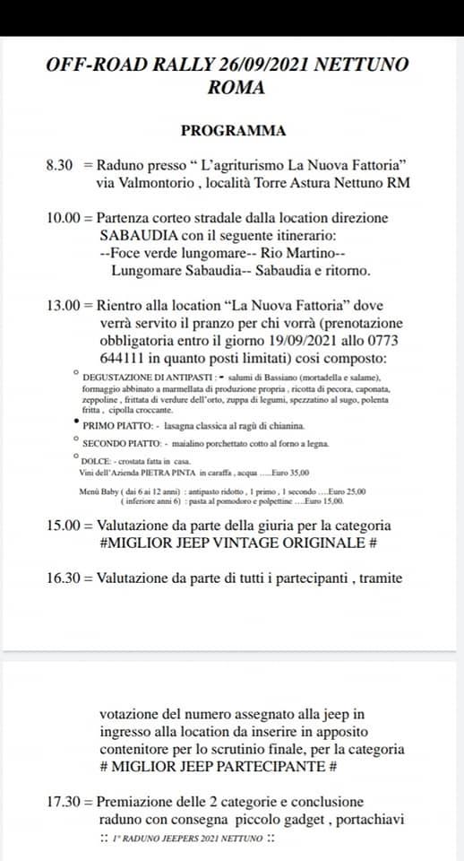 1° raduno Jeepers 2021 Nettuno Rally Off-Road 23428110