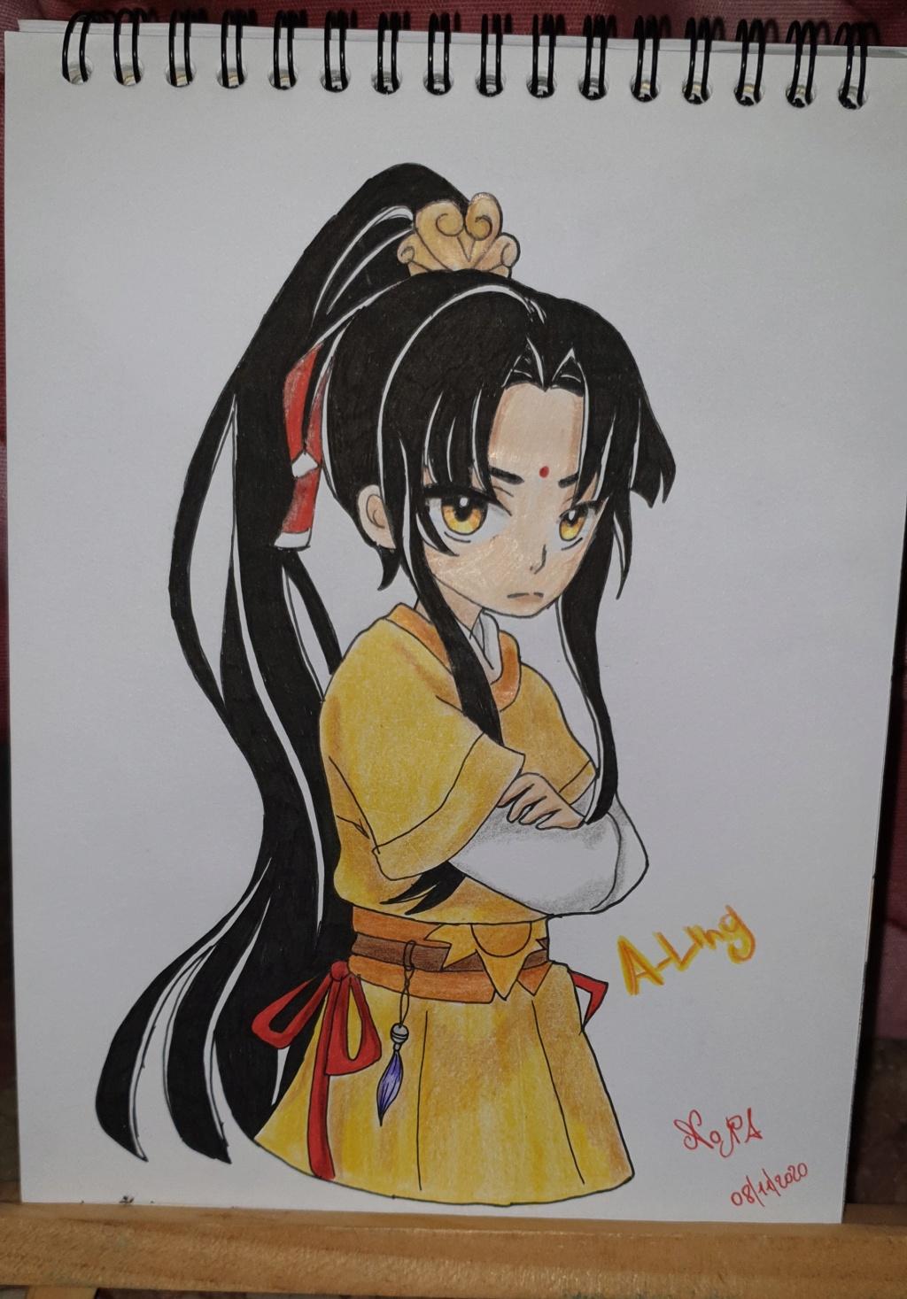 YaoYao disegni(disagi) 20201217