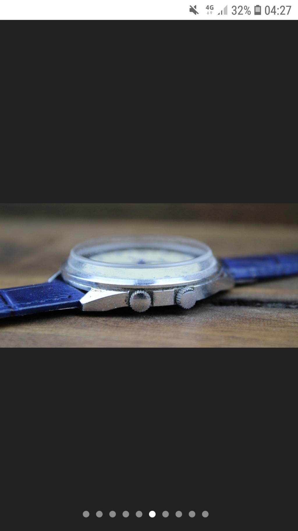 Raketa Dual Time: forme du verre Dualti10