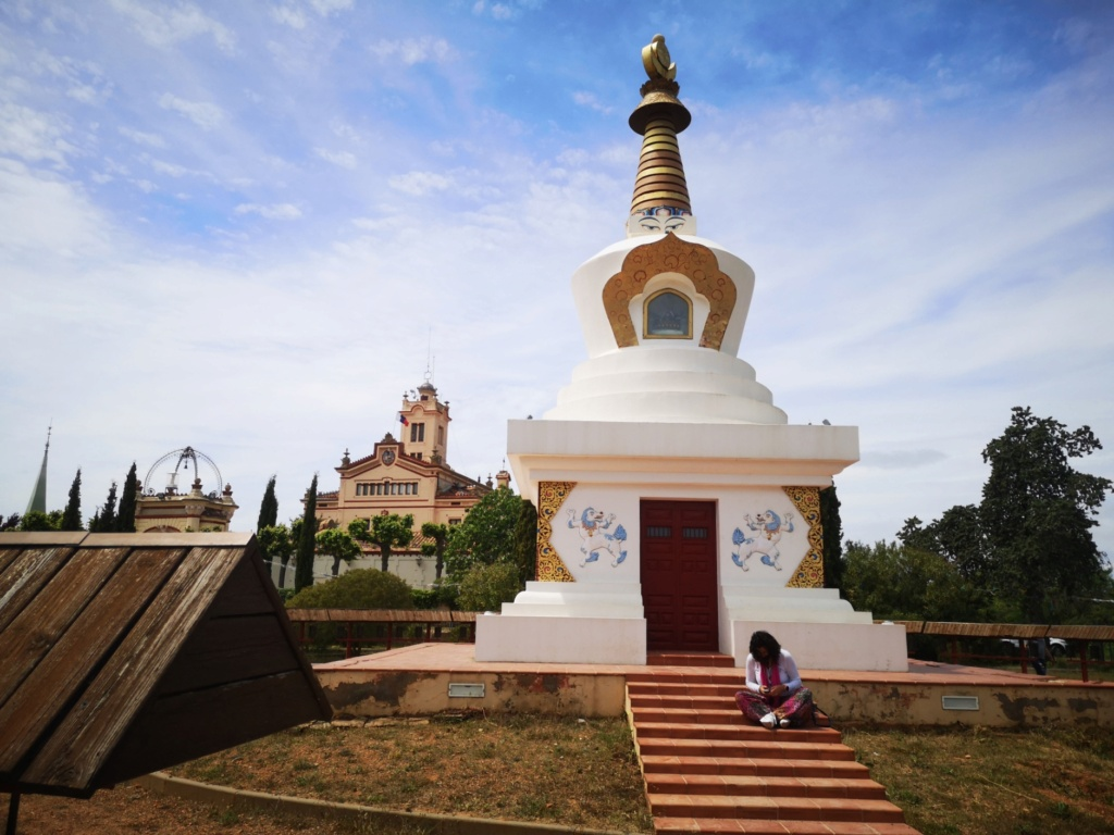 Ruta al templo budista de Garraf Img_2074