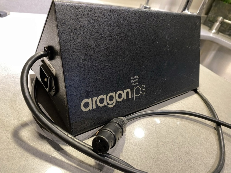 aragon18K MKii preamp/8008 dual mono amp/ Power supply 240a6a10