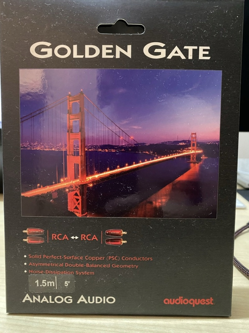 Audioquest Golden Gate analog RCA Bdc88710