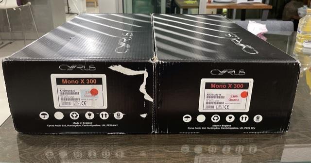 Cyrus Mono X300 power amplifier  Dc4a6b10