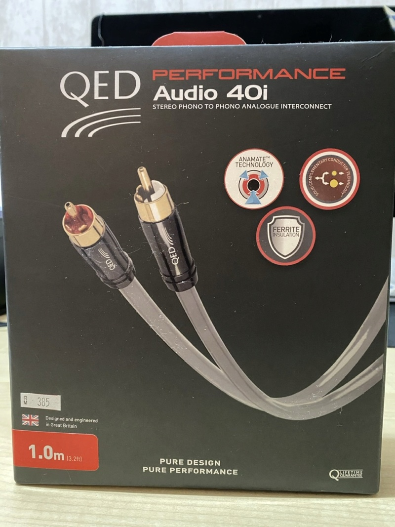 QED Audio 40i analogue RCA(Sold) E05ba310