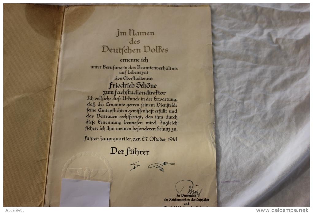 Nomination d'un officier de la Luftwaffe 052_0010