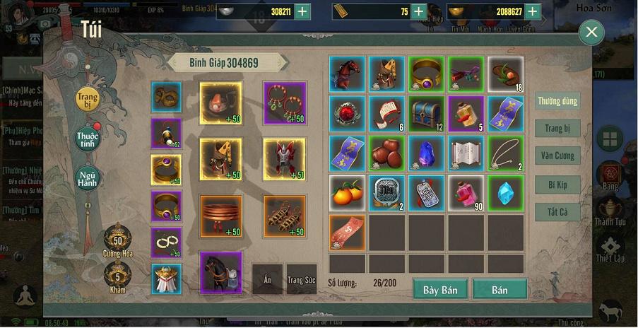 Hack Võ Lâm Truyền Kỳ 1 Mobile miễn phí 12356810