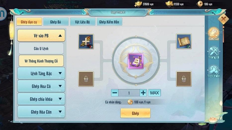 Hack Tru Tiên Thanh Vân Chí Mobile miễn phí 20236110