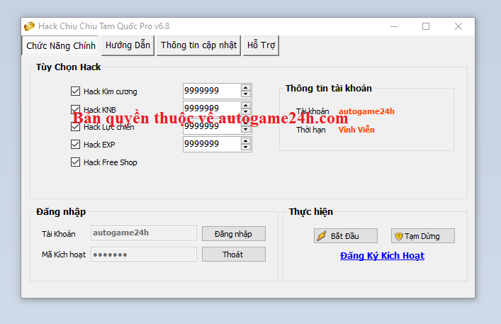 Hack Chiu Chiu Tam Quốc miễn phí Chiuch10